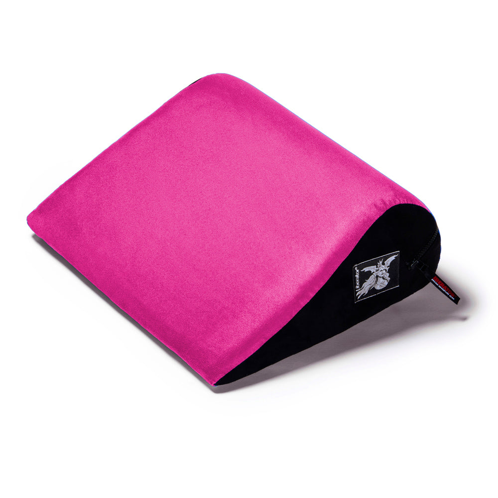 Jaz by Liberator wedge pillow in hot pink, sex furniture, support furniture
