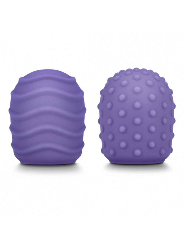 Le Wand Petite Silicone Texture Covers Violet