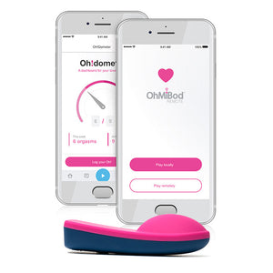 BlueMotion Nex1 2nd Generation Remote Vibrating Toy by OhMiBod