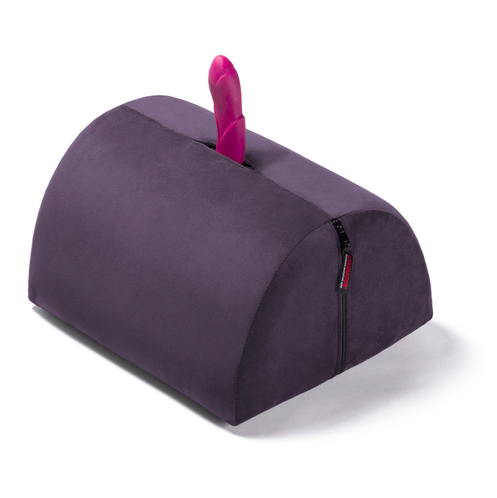 Bonbon Toy Mount by Liberator in Purple with toy inserted