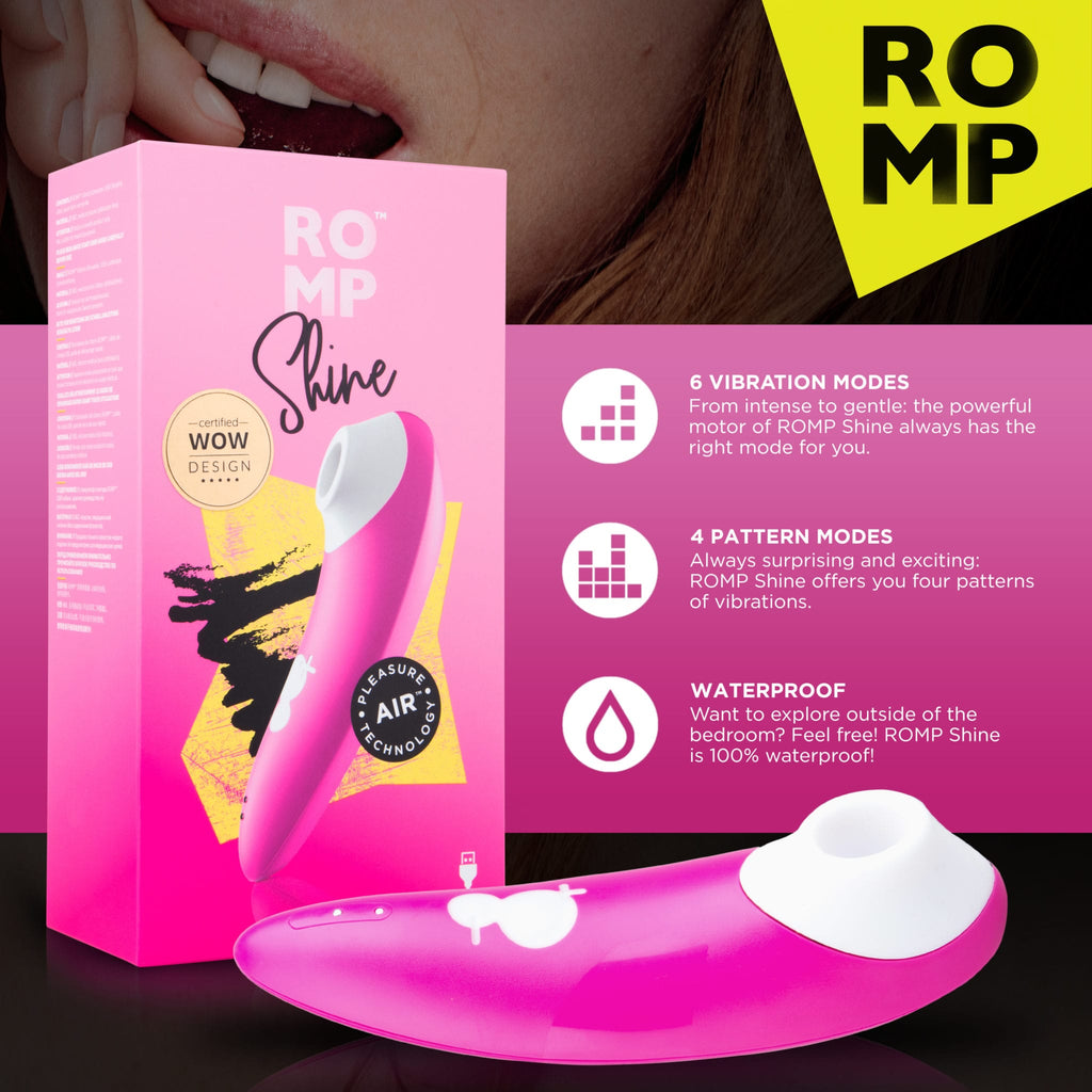 ROMP – Shine Clitoral Stimulator Pleasure Air™