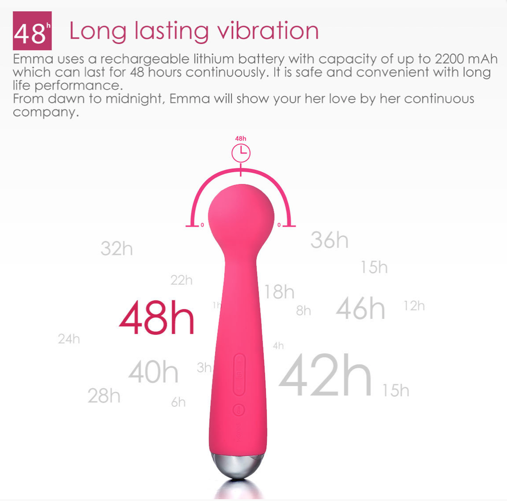 Emma Massager and Rabbit Vibrator by Svakom