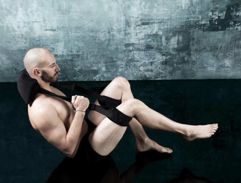 Salto Slingback by Liberator - Male model demonstrating use