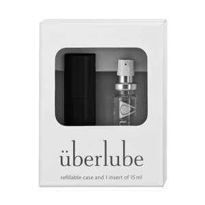 Überlube Luxury Lubricant travel set black