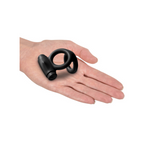 Sir Richards Control Vibrating Silicone Cock Ball C-Ring