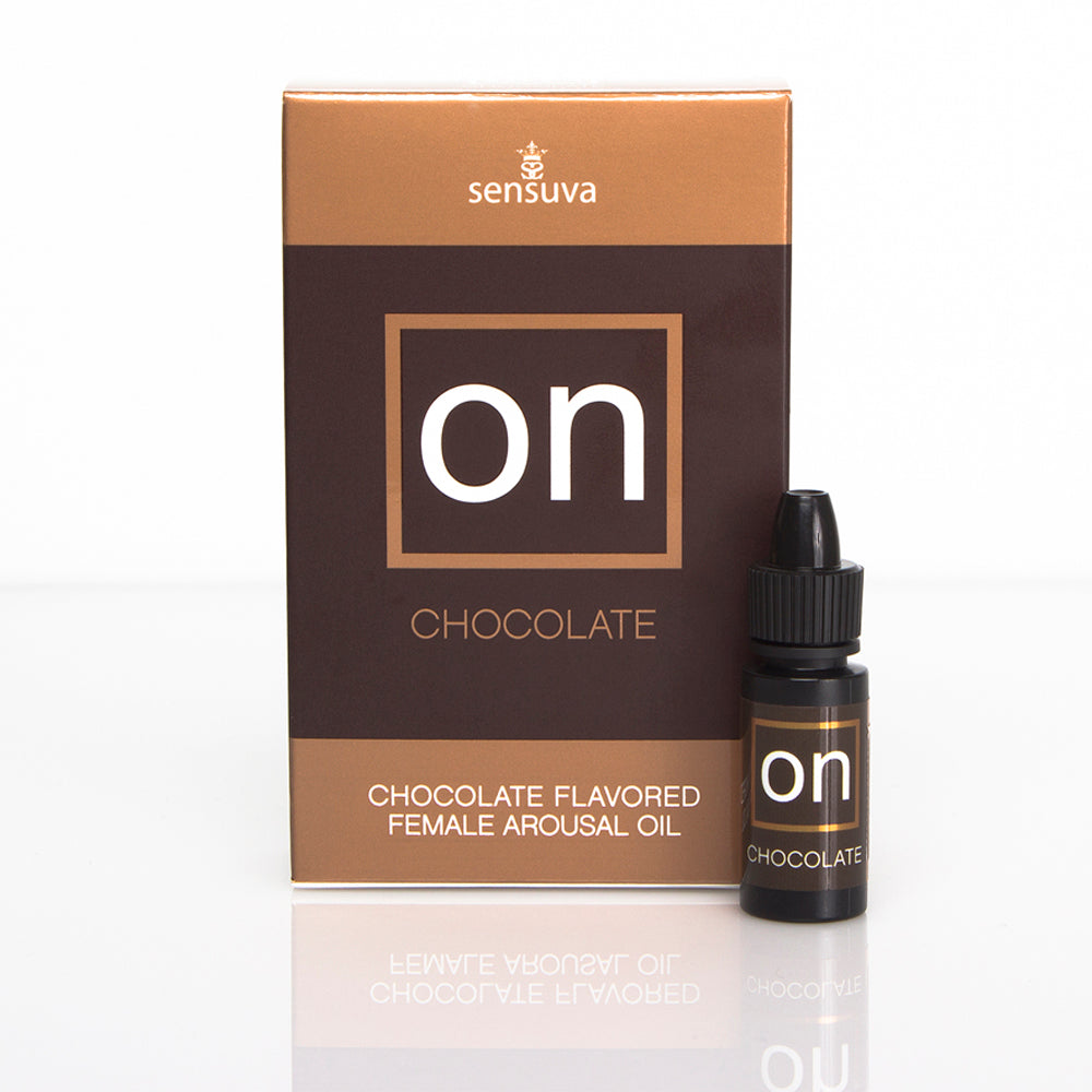 On For Her Arousal Oil by Sensuva - Chocolate