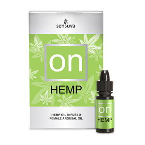 On For Her Arousal Oil by Sensuva - Hemp