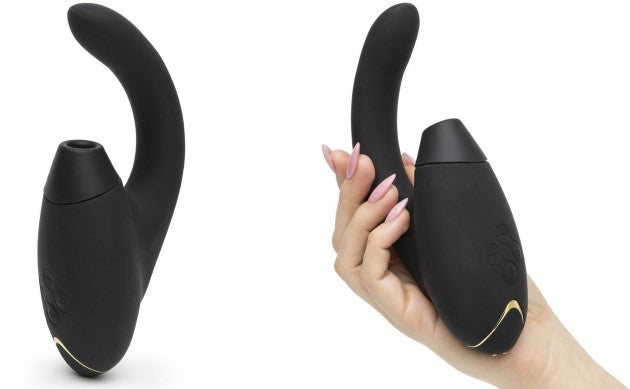 Womanizer Inside out Rabbit style vibrator/clitoral stimulator