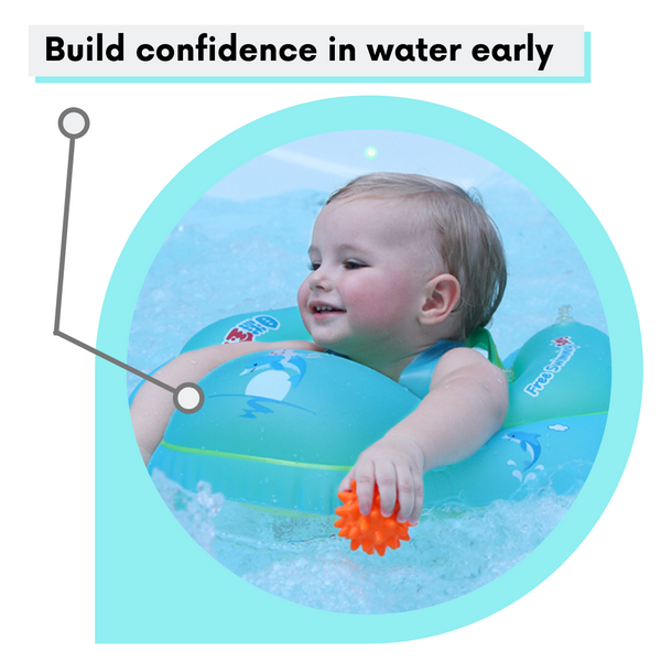 Baby-Girl-Swimming-With-A-Baby-Swim-Ring