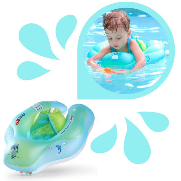 Product-Shot-Of-A-Swim-Ring-And-A-Baby-Wearing-It-At-The-Pool