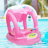 Safety Inflatable Baby Swimming Ring