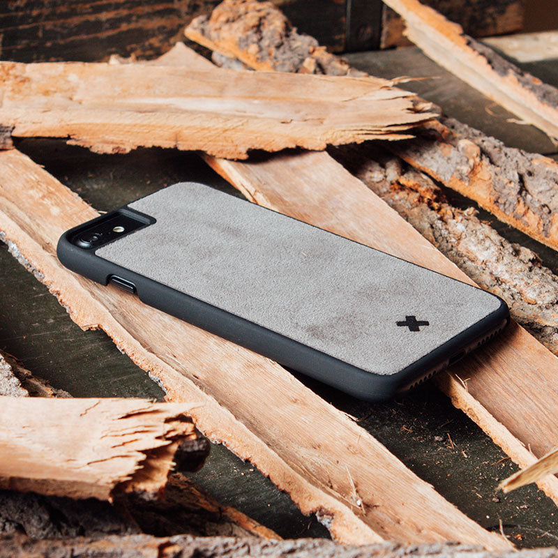 Covood iPhone Pure Alcantara Luxe Hülle