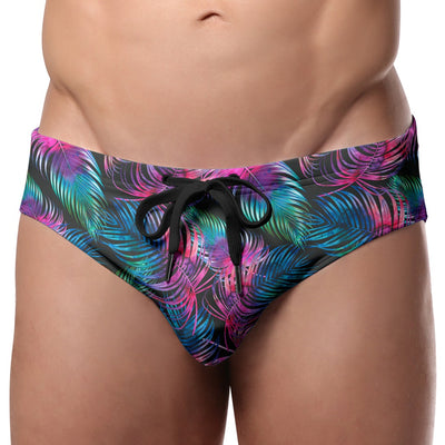 Pool Boy Dark Palm Swim Brief