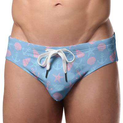 Pool Boy Shells Swim Brief