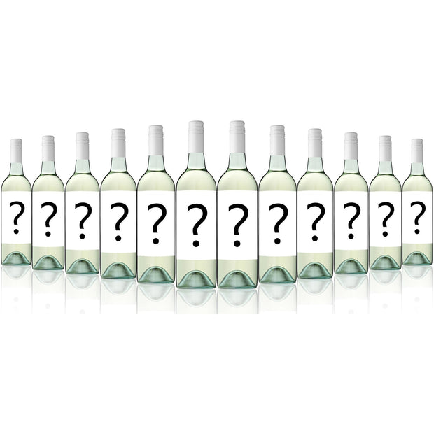 Mystery Big Brand Export Label Crisp Dry White (12 Bottles)