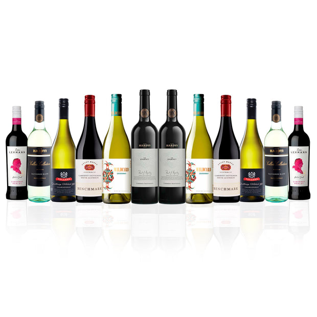Big Brands Mixed Wine Dozen (12 Bottles)
