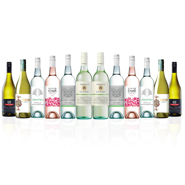 Summer Selections Premium Mixed White & Rose Dozen (12 Bottles)