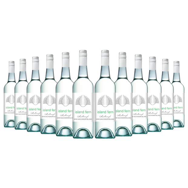 Island Fern Marlborough Sauvignon Blanc 2018 (12 Bottles)