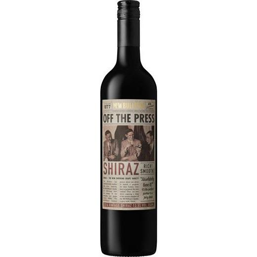 McWilliams Off The Press Shiraz 2019 (6 Bottles)