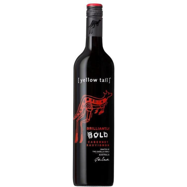 Yellow Tail Brilliantly Bold Cabernet Sauvignon NV (12 bottles)