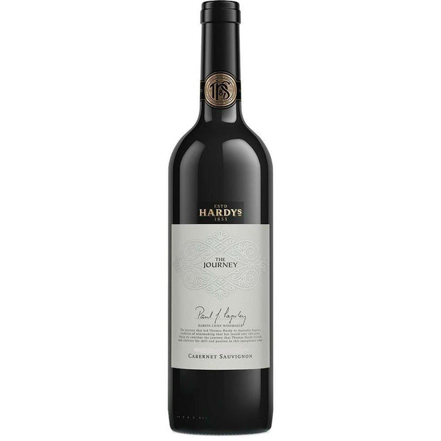 Hardy's The Journey Coonawarra Cabernet Sauvignon 2015 (6 Bottles)