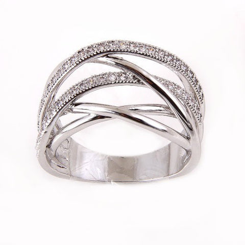 Blair Silver Multilayer Ring - MeTimeBoutique