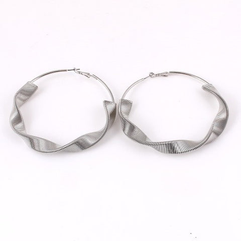Cleo Hoops Small - Gold or Silver