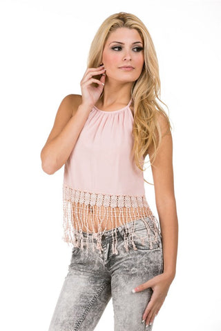 Halter Crop Top - MeTimeBoutique