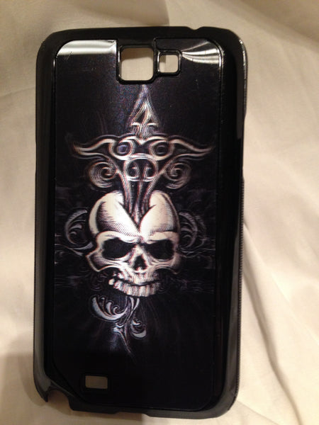 3-D Skull Cross Galaxy Note Case - MeTimeBoutique