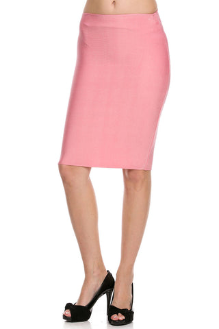 Salmon Pink Bondage Skirt - MeTimeBoutique