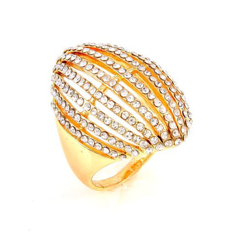 Lenore Diamond Rows Ring - MeTimeBoutique