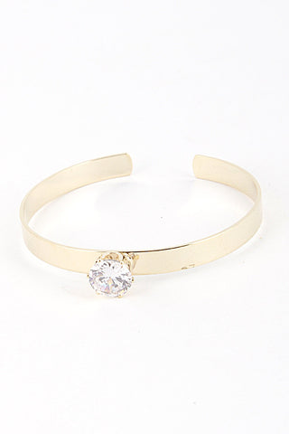 She Said Yes Gold Bracelet