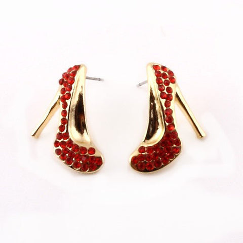Shoe Bling Post Earrings - 3 Different Colors