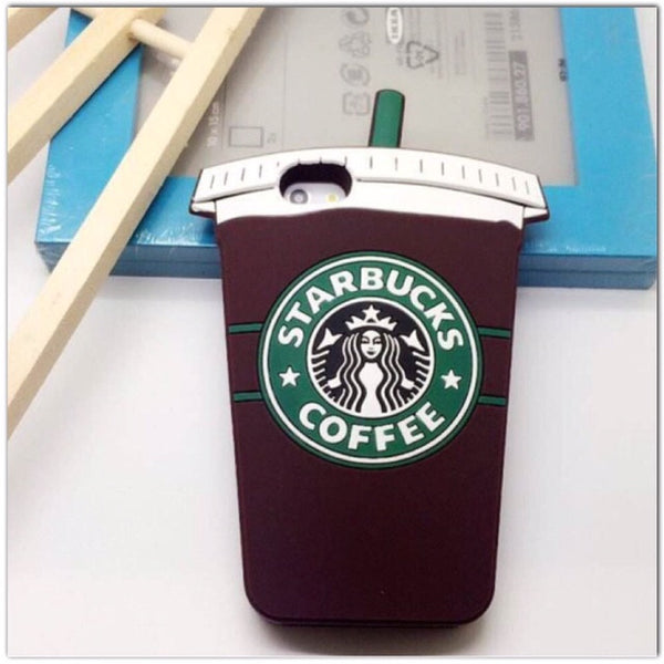 Starbucks iPhone 6 Soft  Silicon Case - MeTimeBoutique