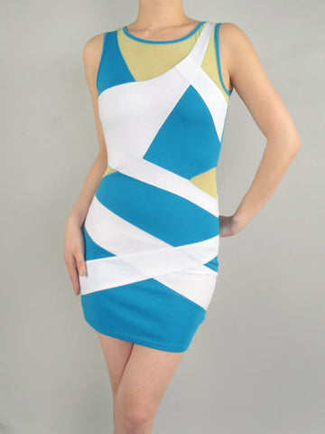 Claudia Bandage Dress - MeTimeBoutique