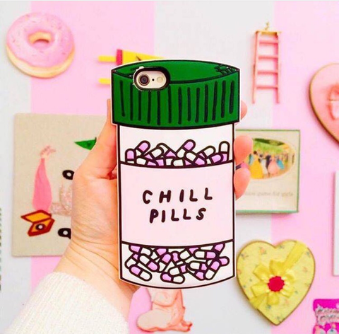 Chill Pills iPhone 6 or 6 Plus Case - MeTimeBoutique