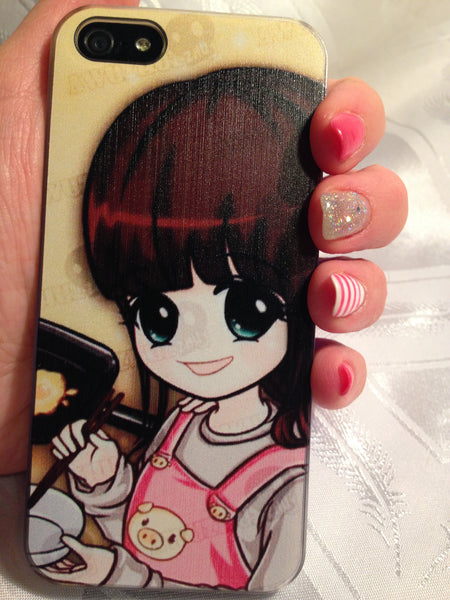 Girl Anime iPhone5 Case - MeTimeBoutique