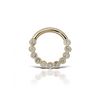 Scalloped Eternity Hinge Ring