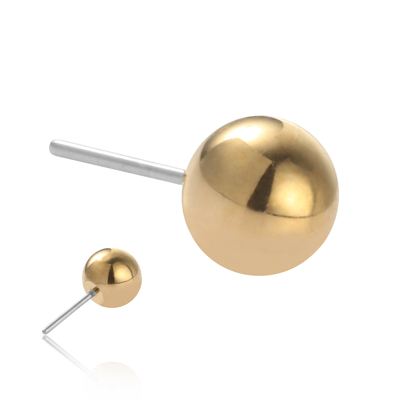 Gold Ball Threadless Attachment
