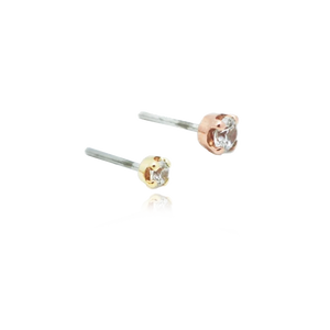 14k Prong Set Genuine Diamond Attachment