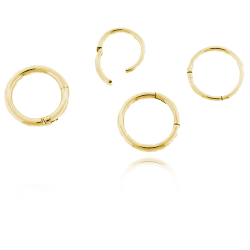 18k Gold Hinged Segment Ring