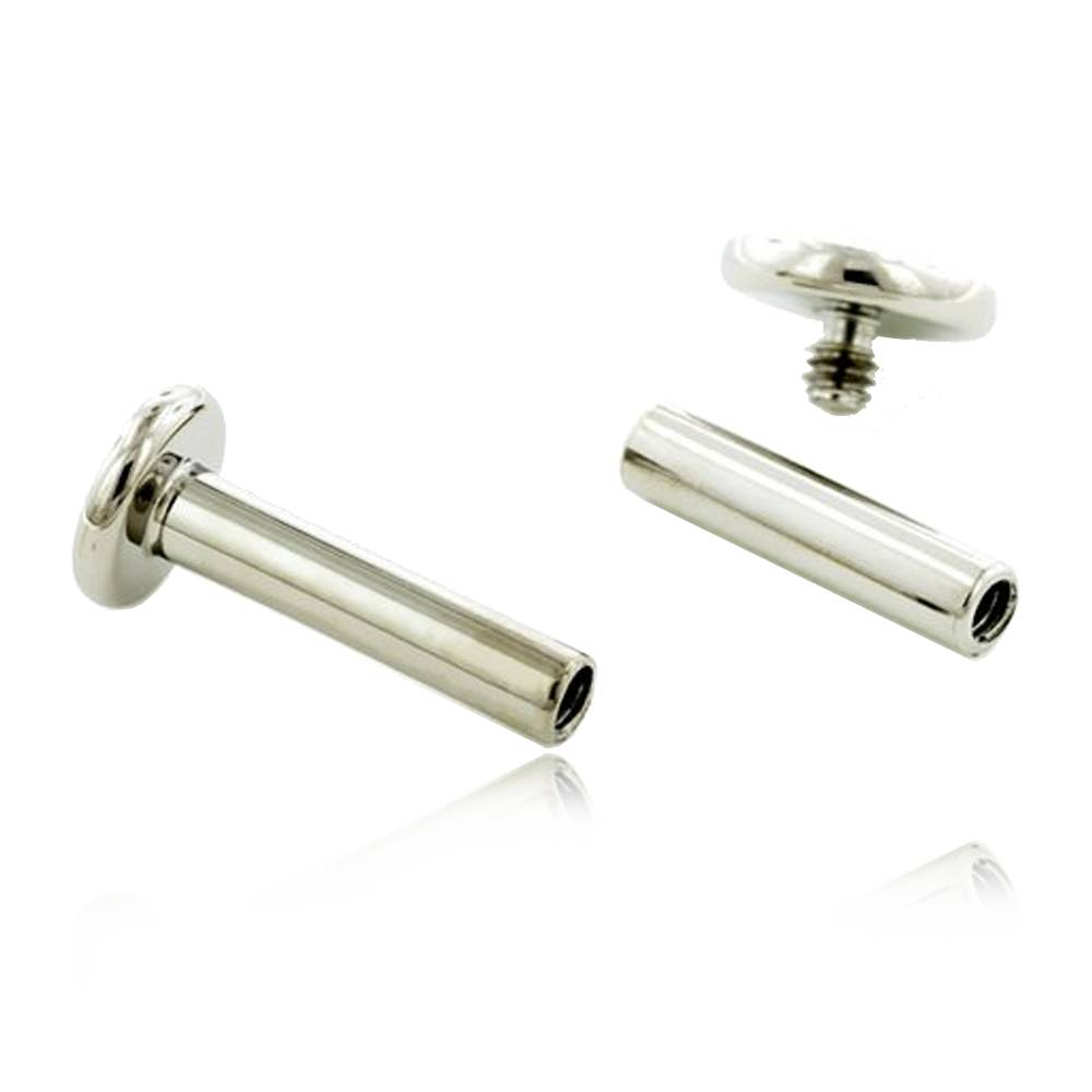 Premium Titanium Threaded Labret Post