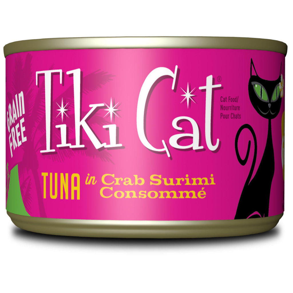 Tiki Cat Lanai Grill Tuna in Crab 6oz
