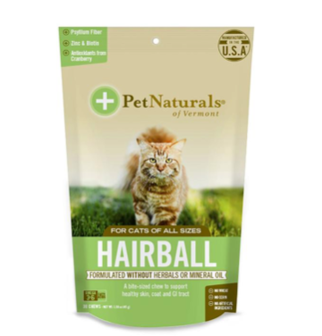 Pet Naturals Softchew Hairball