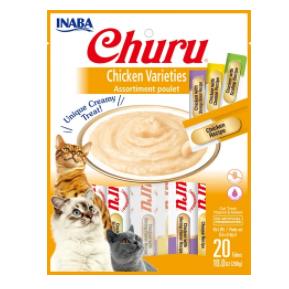 Inaba Churu Chicken Tube Variety Pack 20ct