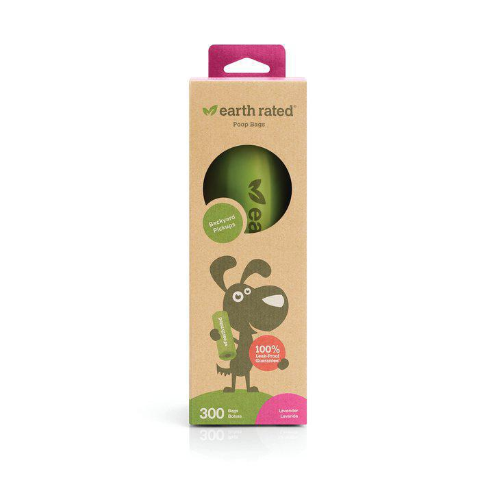 Earth Rated PoopBags 300 Scented bags