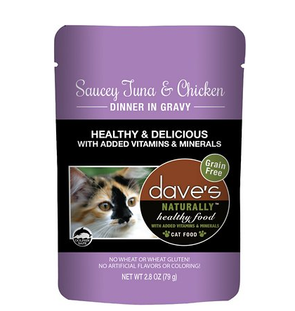 Dave Cat Pouch Tuna Chicken 2.8