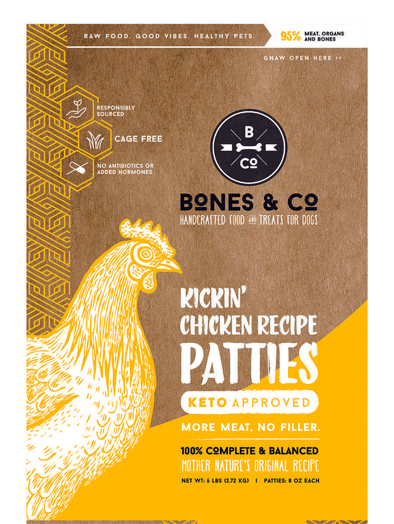 Bones & Co GF Patties 6#