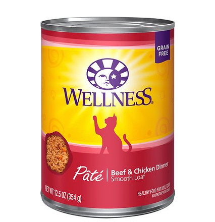 Wellness Cat - Beef / Chicken 12 oz