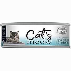 Daves Meow 95% Chicken And Liver 5.5oz